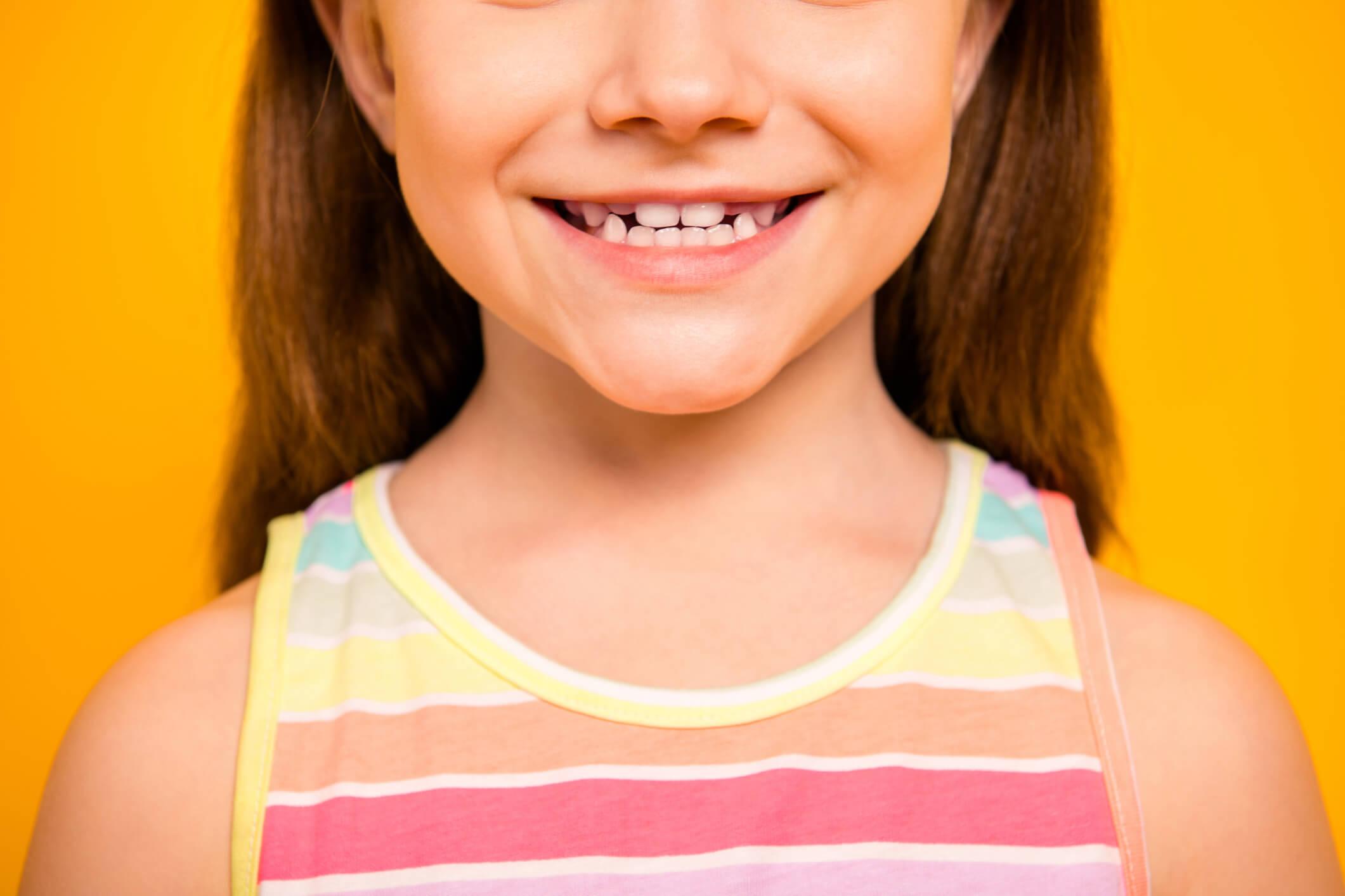 éruptions dentaires enfant