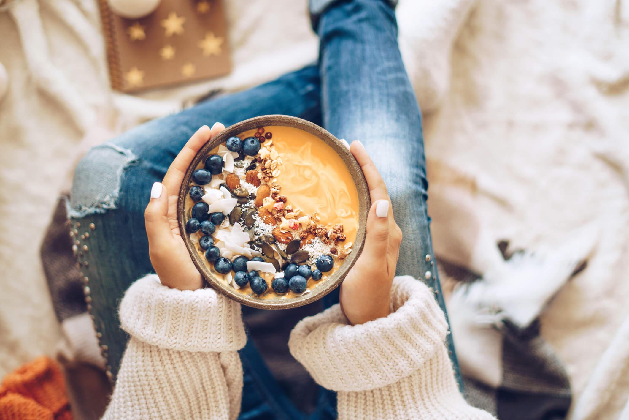 Manger sainement en hiver