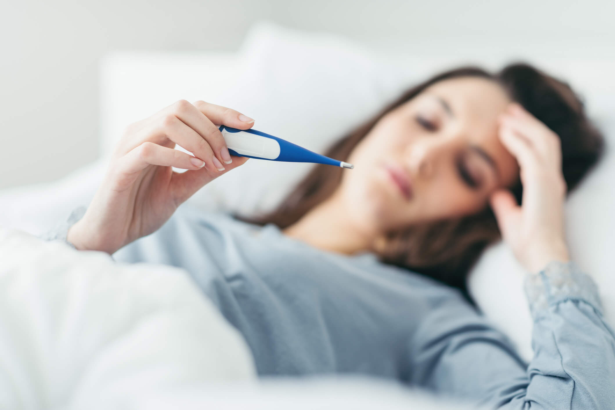 symptome fièvre