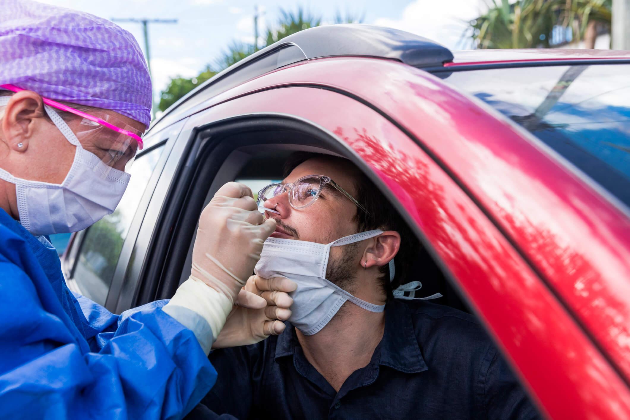 drive dépistage coronavirus