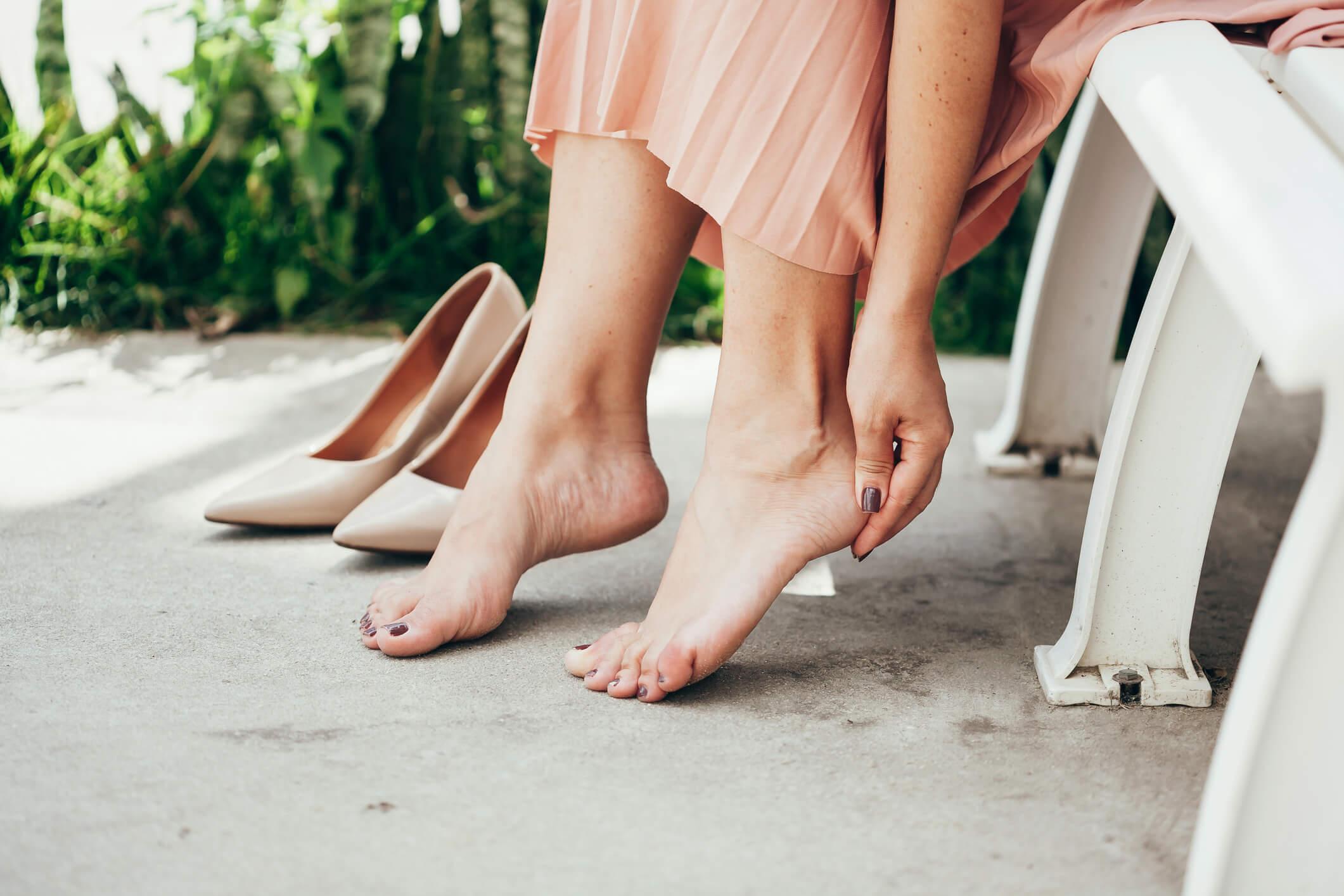 démangeaisons pied