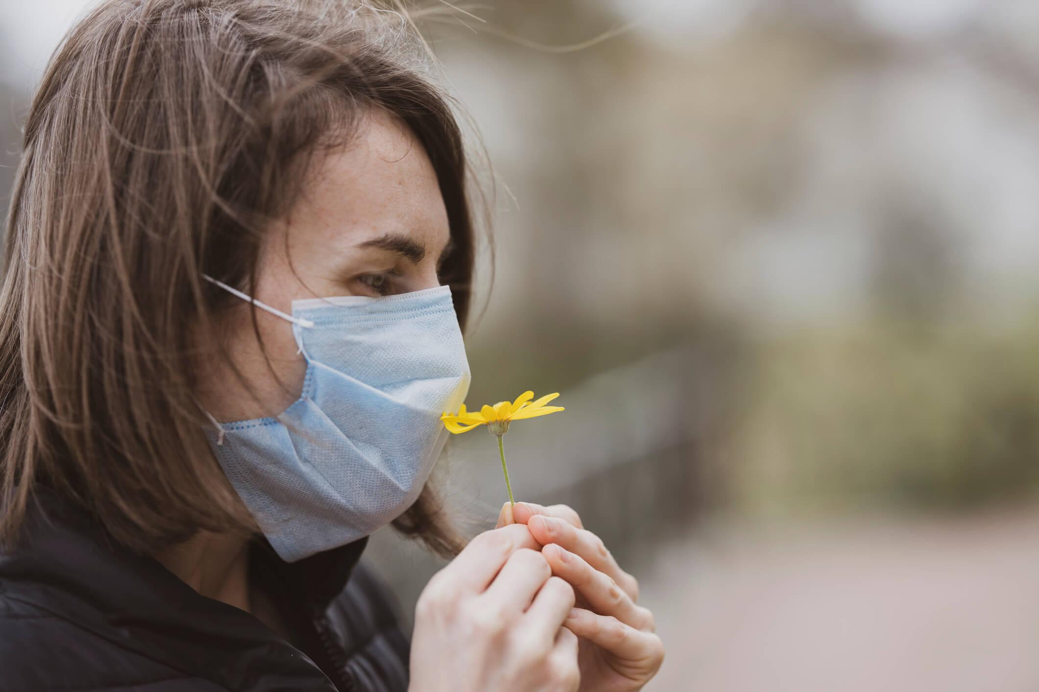 perte d'odorat covid-19