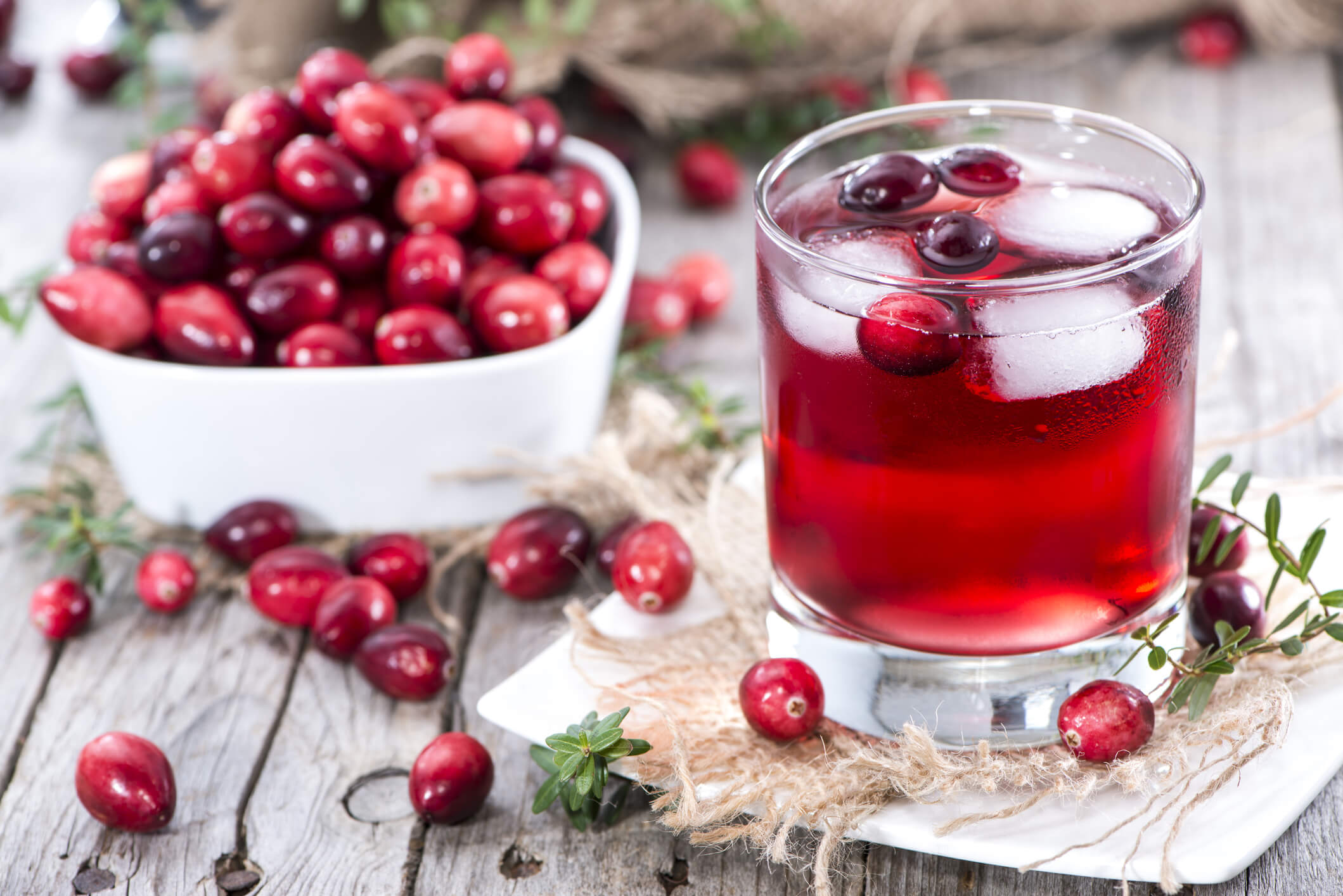 infection urinaire cranberry