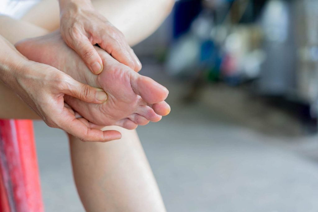 arthrose pied traitement