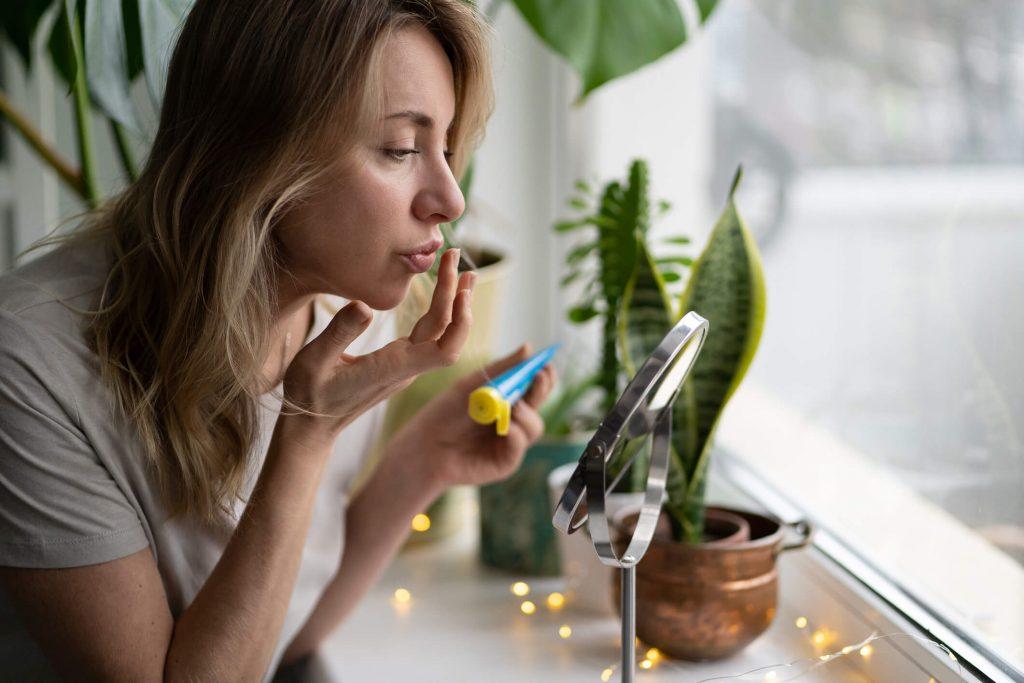 soigner herpes bouche