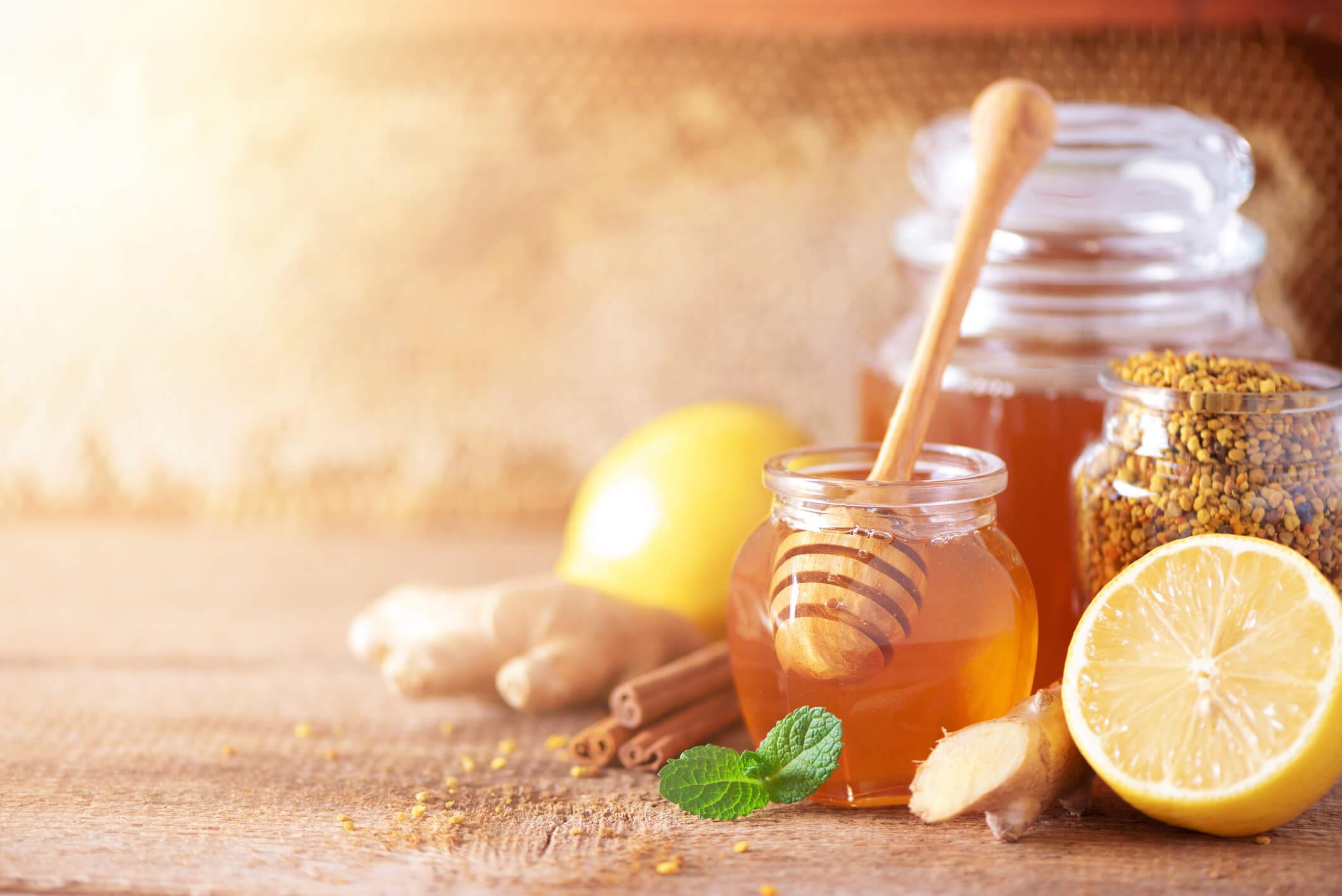 miel mal de gorge