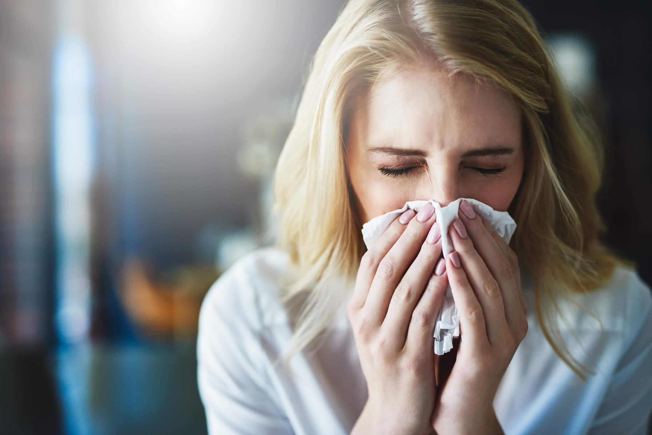 rhume allergie